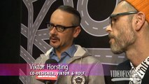 Viktor & Rolf Fall 2014 Paris Fashion Week - Backstage, Interviews & Runway | Videofashion