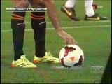 هدف لاعب الشباب فرناندو مينغازو في شباك الأهلي - نهائي كأس الملك 2014
