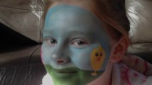 Easter Party Face Painting Tutorial _ Make-up Design - Children's Face Painting Tutorial
