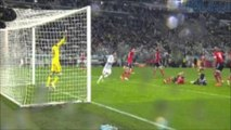 Garay kicked in the face and bleeding | Paul Pogba Bicycle kick | Juventus vs Benfica 01-05-2014