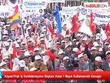 Kayseri1hak İş Konfederasyonu Başkanı Aslan 1 Mayıs Kutlamasında Konuştu