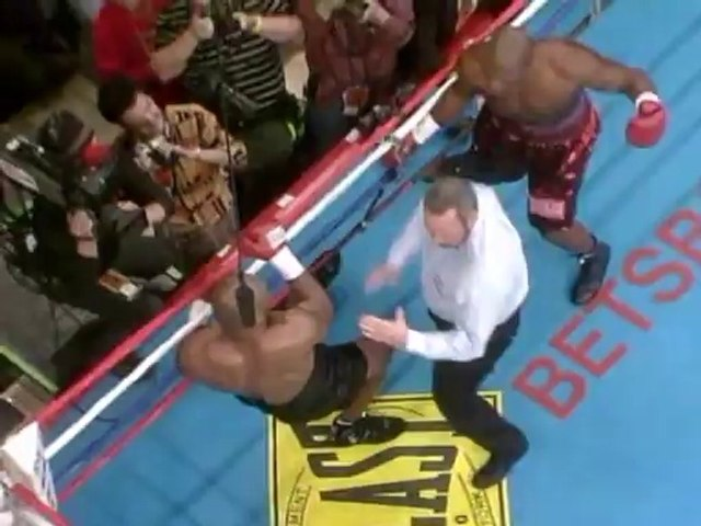 Mike Tyson vs Clifford Etienne 2003-02-22 full fight