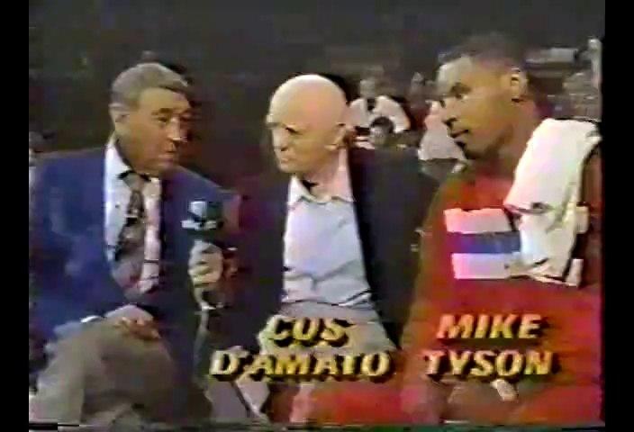 Mike Tyson vs Henry Milligan 1984-06-09 amateur fight
