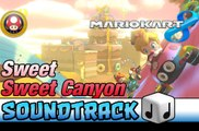 Mario Kart 8 OST [HD] Sweet Sweet Canyon  ♪ Theme Soundtrack Music | Mushroom Cup | Gameplay | Walktrough | Let's Play | Playthrough | Mario Kart 8 Gameplay | Mario Kart 8 Trailer | Mario Kart 8 Walkthrough | Mario Kart 8 Multiplayer | Mario Kart 8 Online