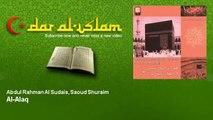 Abdul Rahman Al Sudais, Saoud Shuraim   Al Alaq   Dar al Islam