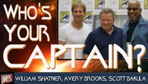 William Shatner, Scott Bakula, Avery Brooks Interview for The Captains at San Diego Comic-Con 2011