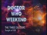 BSB Doctor Who Weekend- Three Doctors Trailer