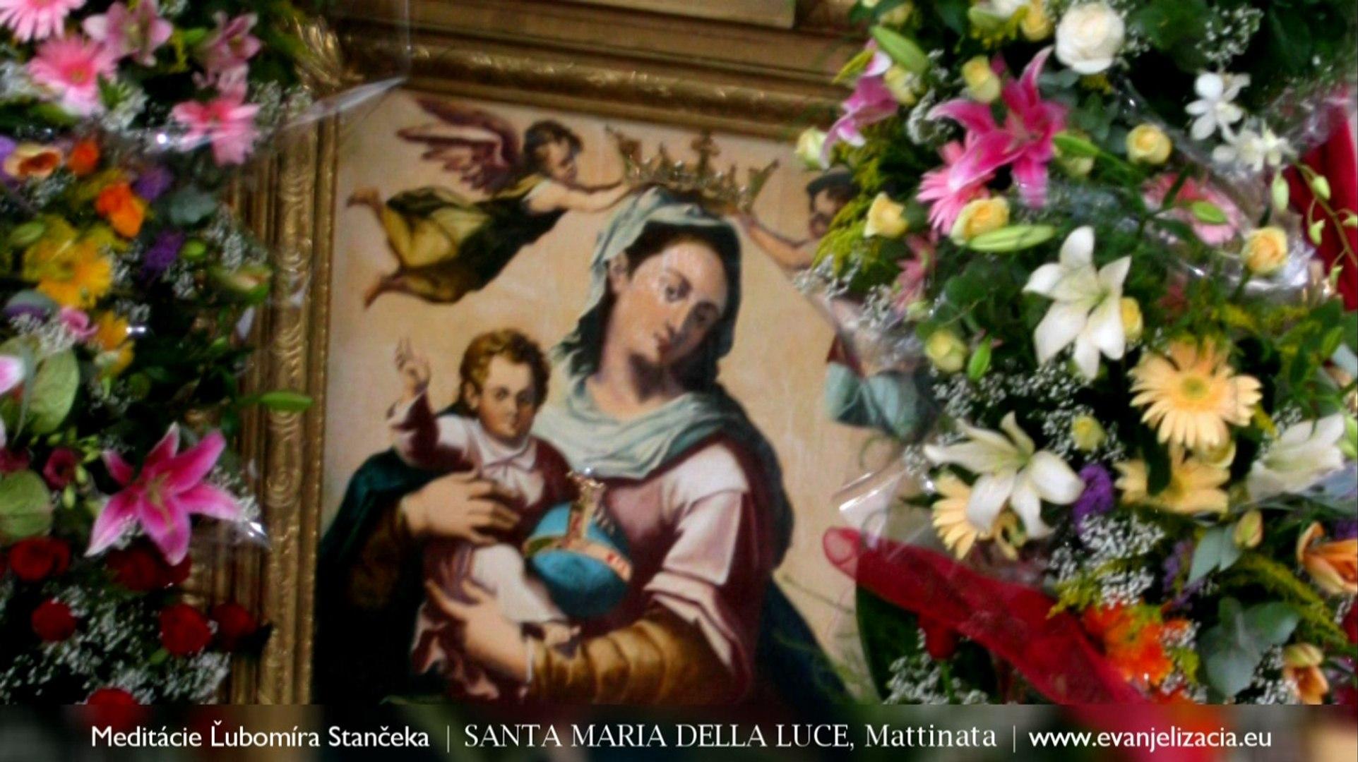† Meditácie Ľubomíra Stančeka | Sloboda Jn 6,60-69 | Chiesa Santa Maria della Luce, Mattinata
