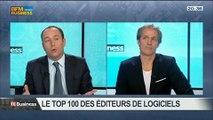 Quels sont les 100 premiers éditeurs de logiciels?: Thierry Leroux, Cédric Lagarrigue et Olivier Novasque, dans 01Business - 03/05 3/4