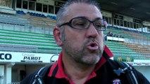 Rugby Top 14 - Christophe Urios réagit après Brive - Oyonnax