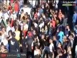 un défilé du Mouloudia à la européenne a bab el oued  et alentour
