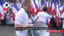 Les slogans très contrôlés de Julien Rochedy (FNJ) lors du défilé du 1er mai du FN