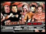 Sandman & Tommy Dreamer vs. Mike Knox & Test