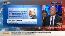 BFM Politique: L'interview de Bruno Le Roux par Christophe Ono-dit-Biot - 04/05 4/7