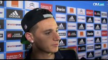 OM 4-2 Lyon : la réaction de Florian Thauvin