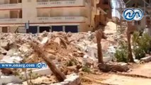 مدير أمن مطروح يقود حملة لإزالة 30 منزلا و33 محلا مقامة على أراضي الدولة