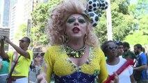 Brésil: Gay Pride à Sao Paolo