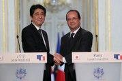 Déclaration aux côtés de Shinzo ABE, Premier ministre du Japon