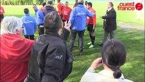 Stade rennais: entrainement sous très haute tension entre joueurs et supporters