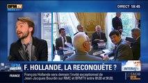 BFM Story: Deux ans à la présidence: Invité sur BFMTV et RMC, François Hollande peut-il reconquérir l'opinion publique ? - 05/05