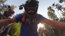 Mountain Bike (MTB) Backflip Over Truck : Crazy Kelly McGarry