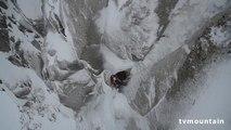 Goulotte Ravanel Frendo Aiguille Carrée Arête des Grands Montets Chamonix Mont-Blanc massif