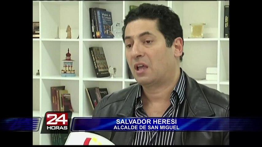 Salvador Heresi negó que San Miguel contamine las playas de la Costa Verde   Godialy.com