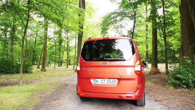 Ford Tourneo Courier - Test & Fahrbericht