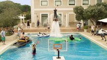 Turkish Airlines Euroleague Epic Pool Dunk