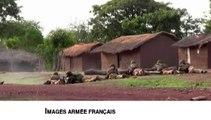 Centrafrique : violents combats à l'arme lourde entre soldats français et assaillants