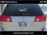 2006 Toyota Sienna Used Minivan Baltimore Maryland | CarZone USA