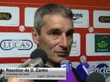 (J36) Laval 1-0 Nancy, réaction de D. Zanko