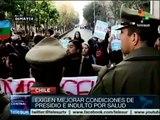 Mapuches presos mantienen huelga de hambre en Chile