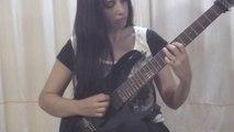How to Play Ice Nine Guitar Intro by Joe Satriani - Rhythm Guitar Lesson