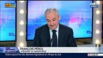 """""""L'économie française n'est plus en récession, mais elle n'est pas encore en face de reprise"""", François Pérol, dans GMB - 07/05"""