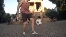 Grosse démo de foot Freestyle - GoPro Soccer Freestyle