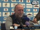 """Tours FC - Arles-Avignon """"Tours a fait un très bon match"""" (F. Dumas)"""