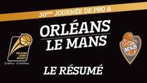 Le Résumé - J30 - Orléans reçoit Le Mans