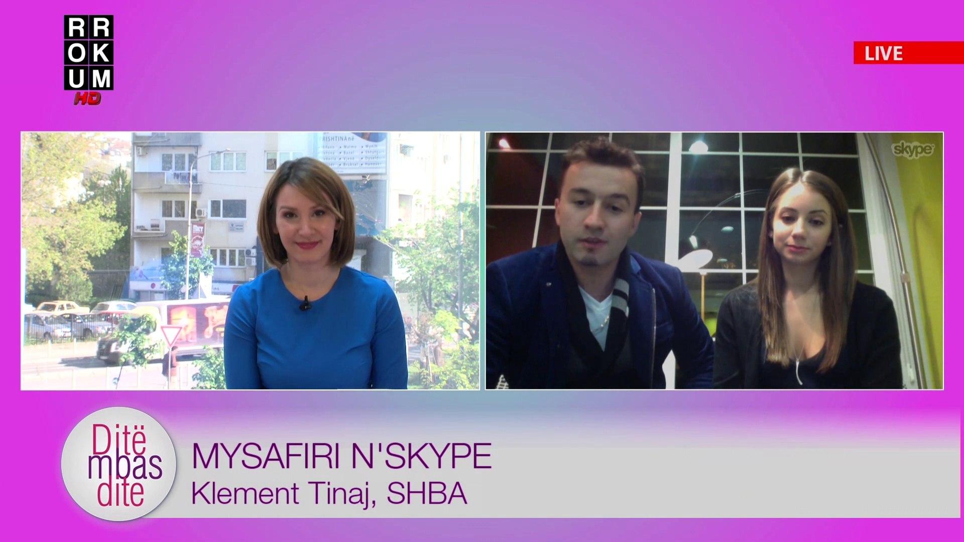 Mysafiri n'Skype - Klement Tinaj, SHBA