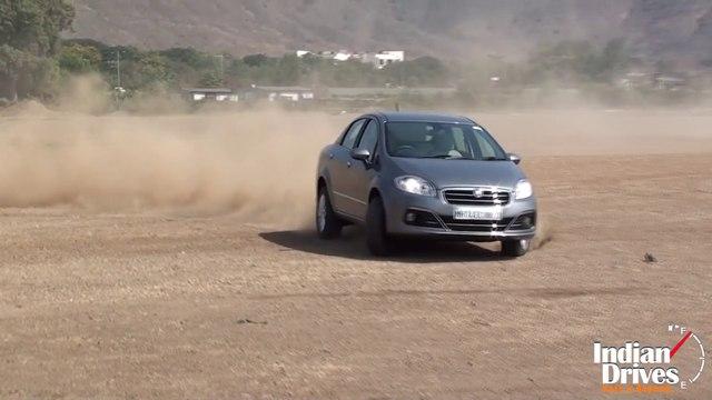 2014 Fiat Linea (Diesel) Drifting Video