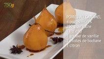 Recette de Poires au caramel - 750 Grammes