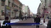 تراجع عدد السياح الاجانب في روسيا 30 % بسبب الازمة الاوكرانية