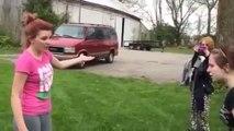 Violent combat entre filles