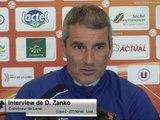 (J37) Nîmes - Laval, interview de D. Zanko