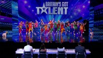 Britain's Got Talent 2013 - 086 - Week 5 Auditions - Youth Creation Street Dancing On The BGT Stage