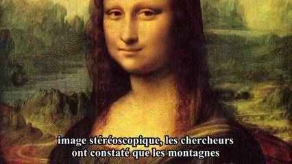 La Joconde de Leonard de Vinci cacherait-elle la première image 3D de l'Histoire ?