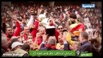 Attassia Sport 1/2 l'Espérance Sportive de Tunis Championne de Tunisie pour la 26ème fois