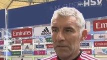 "HSV-Trainer Mirko Slomka fordert: ""Spielen wie gegen Bayern"""