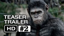 Dawn of the Planet of the Apes Teaser-Trailer #2 (HD) Gary Oldman