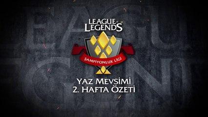 Şampiyonluk Ligi Yaz Mevsimi 2.Hafta Özeti
